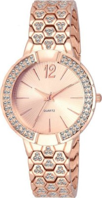 9a1bb4638 3% OFF on COSMIC Rhinestone Studded Analog Rose Gold Dial WXW215 for girls  Watch - For Women on Flipkart | PaisaWapas.com