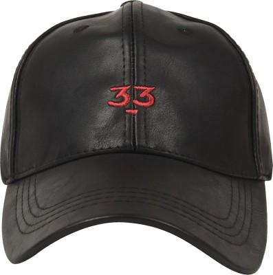 ILU Solid Genuine Leather Baseball Snapback Cap Cap