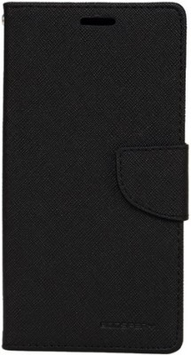 Z Z Flip Cover for Lenovo K3 Note(Black, Dual Protection, Artificial Leather, Rubber)