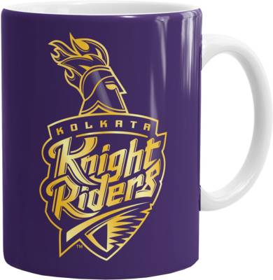 The Souled Store KKR - Logo Ceramic Mug