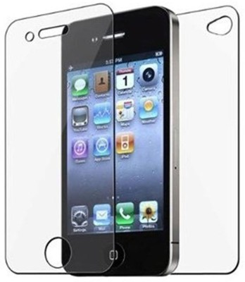 GS SMART Front and Back Tempered Glass for Apple Iphone 4S {Flexible Glass}(Pack of 1)