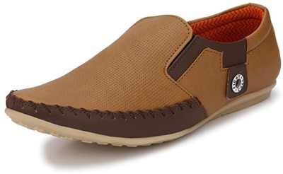 Adiso Loafers For Men(Tan)