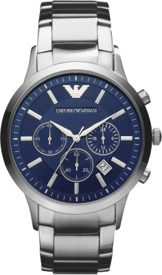 Classic Emporio Armani Chronograph AR2448 Imported No Warranty Watch  - For Men  available at flipkart for Rs.9495