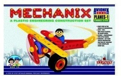 Gauravshopo Creative Mechanix 3602005 Plastic Planes   2 Multicolor