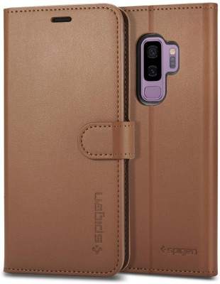 Spigen Back Cover for Samsung Galaxy S9 Plus / Galaxy S9+(Coffee Brown, Plastic)