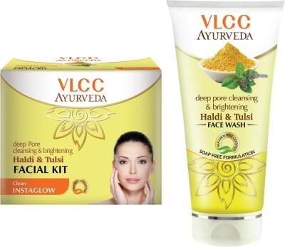 VLCC Facial Kit and Facewash Combo (2 Items in the set)