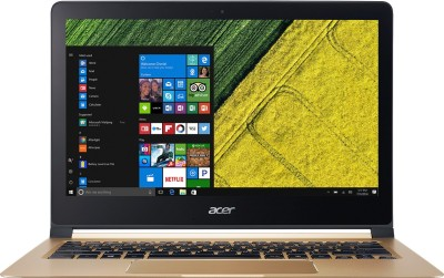 Acer Swift 7 Core i5 7th Gen - (8 GB/256 GB SSD/Windows 10 Home) SF713-51 Thin and Light Laptop(13.3 inch, Black, 1.13 kg)