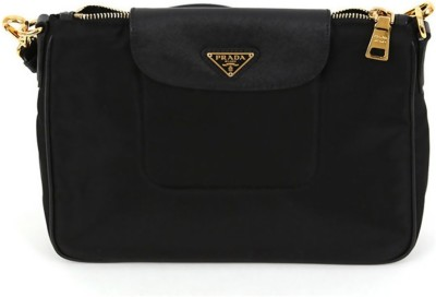 a6b3ed953fb Buy Prada Sling Bag(Black) on Flipkart