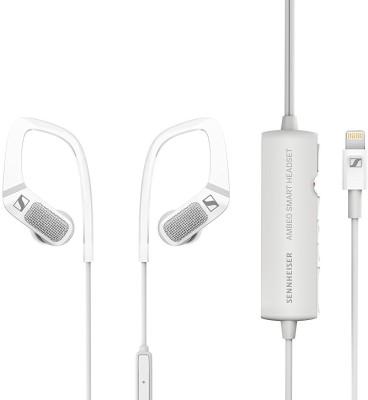 Sennheiser Ambeo Smart Wired Headset(White, In the Ear)