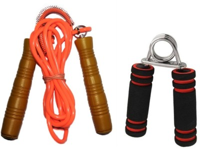 VIGOR combo of hand grip & jump skipping rope Gym & Fitness, Home Gym Kit  available at flipkart for Rs.149