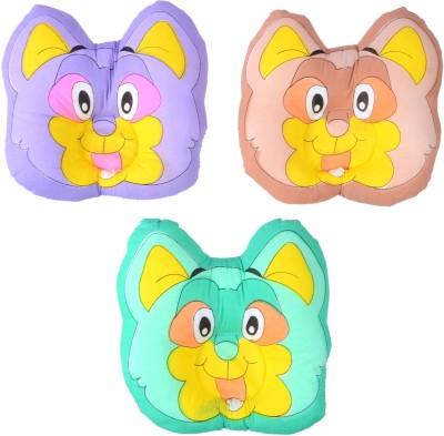 Shop Frenzy Cartoon Feeding/Nursing Pillow Pack of 3(MULTICOLOR CAT)