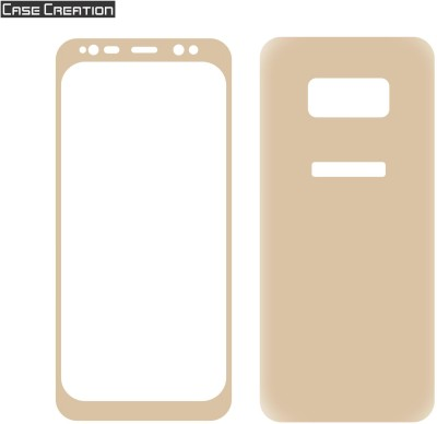 Case Creation Front and Back Screen Guard for Samsung Galaxy S8+(Pack of 2)