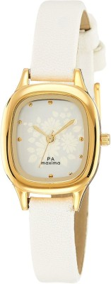 Maxima 39871LMLY Analog Silver Dial Women's Watch (39871LMLY)