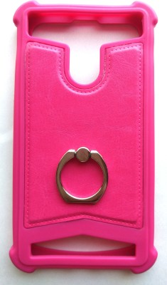 Vimkart Back Cover for 4.3 inch mobile Matrixx(Pink, Grip Case, Flexible Case)