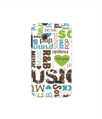 Mystry Box Back Cover for Sony Xperia Tipo St21i(Pop n Jazz, Flexible Case)