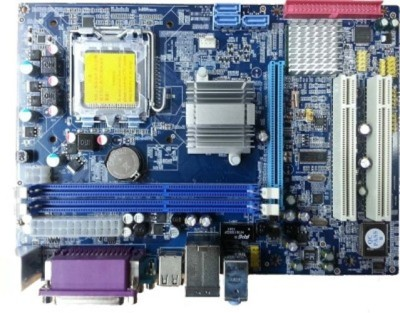 Assemble Lapcare G31 Ram 2GB Core 2 Due 3.0Ghz Combo Motherboard(Blue)