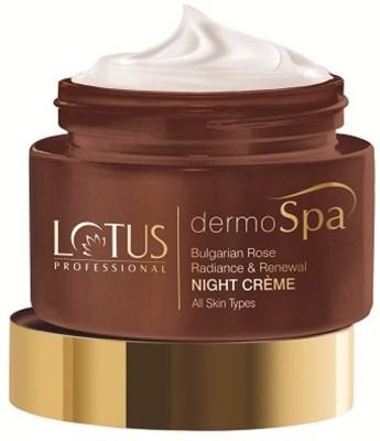 Lotus Professional Dermo Spa Bulgarian Rose Radiance and Renewal Night Creme 50 g Lotus Professional Skin Brightening Cream