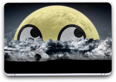 Flipkart SmartBuy Emoticons In Clouds 2 Vinyl Laptop Skin Vinyl Laptop Decal 14.1