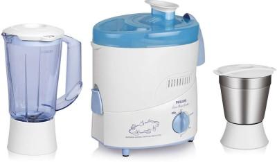 Philips HL1631 500 Juicer Mixer Grinder(Blue, 2 Jars)  available at flipkart for Rs.3195