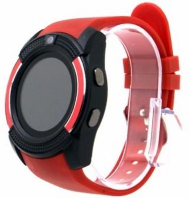 Cuba PNW_576P V8 Smartwatch(Red Strap XL)