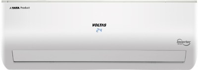 View Voltas 1.5 Tons 3 Star BEE Rating Inverter AC  - White(SAC 183 VDZU, Copper Condenser)  Price Online