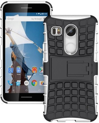 G.V.C. Back Cover for LG Nexus 5X 2015(White, Shock Proof, Rubber, Plastic, Silicon)
