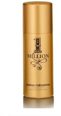 paco rabanne perfume 1 million Deodorant Spray  -  For Men(150 ml)  available at flipkart for Rs.1499