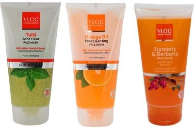 VLCC Original Tulsi Acne Clear, Orange Oil, Turmeric and Berberis FaceWash Face...