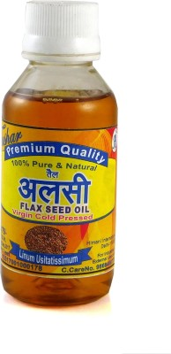 TUSHAR 100% PURE & NATURAL FLAX SEED OIL Hair Oil(100 ml)  available at flipkart for Rs.135