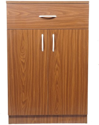 Home Full Ben Engineered Wood Crockery Cabinet(Finish Color - OAK)
