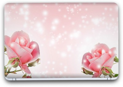 Flipkart SmartBuy Pink Flower 8 Vinyl Laptop Skin (3M/Avery Vinyl, Matte Laminated, 14 x 9 inches) Vinyl Laptop Decal 14.1