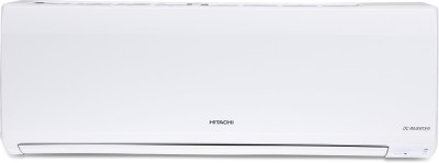 Hitachi 1 Ton 4 Star BEE Rating 2018 Inverter AC  - White(RSE/ESE/CSE-412HBEA, Copper Condenser)   Air Conditioner  (Hitachi)