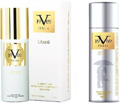990756572784 24% OFF on Versace Urbane Perfumed Spray 150 ml With Entice All Over Body  Spray