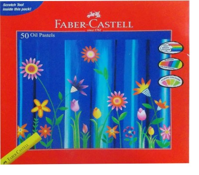 Faber-Castell Round Shaped Oil Pastel Crayon(Assorted)