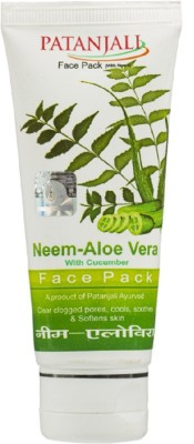 Patanjali Neem Aloe Vera Face Pack (60GM)