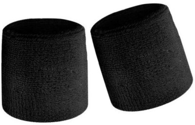 Vigor Wrist Support band (Cotton) Fitness Band(Black, Pack of 2)  available at flipkart for Rs.95