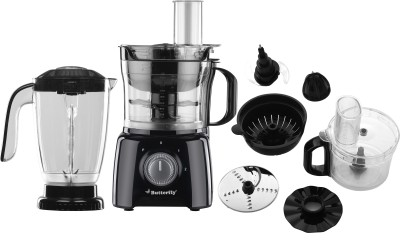 Butterfly BFP17 650 W Food Processor(Black)
