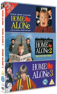 HOME ALONE COLLECTION PART 1 - 3(DVD English)