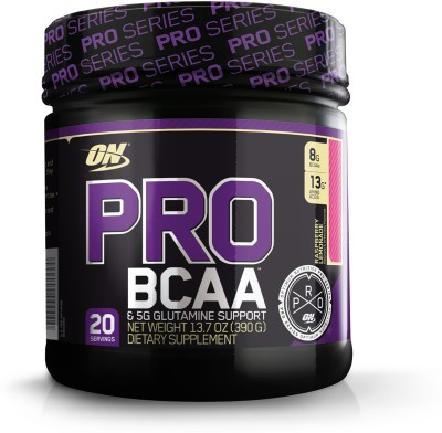 Optimum Nutrition PRO BCAA Protein (20 Servings) Raspberry Lemonade