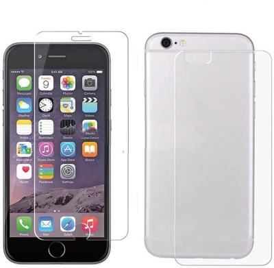 Case Creation Front and Back Tempered Glass for Apple iPhone 6(Pack of 2)