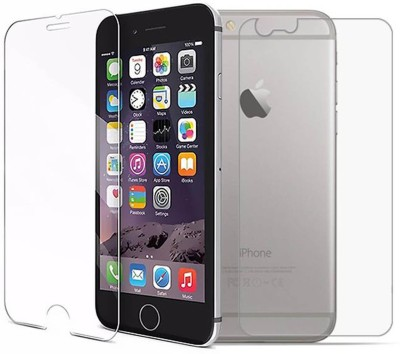 Case Creation Front and Back Tempered Glass for Apple iPhone 6 Plus(Pack of 2)