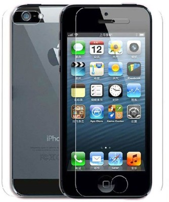 Case Creation Front and Back Tempered Glass for Apple iPhone 4s(Pack of 2)