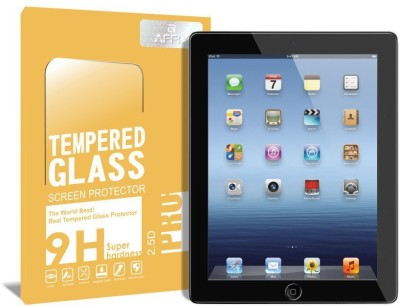 Affix Tempered Glass Guard for Apple iPad 2, Apple iPad 4 [9.7 Inch], Apple iPad 3(Pack of 1)