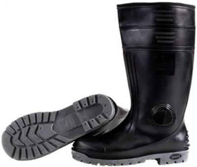 42d932e51df SAVIOUR Full Gumboot [Without Steel Toe Cap] High Tops For Men(Black)