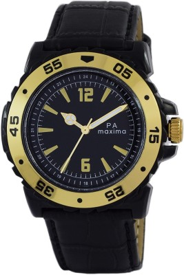 Maxima O-45848LPGW  Analog Watch For Men