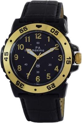 Maxima O-45847LPGW  Analog Watch For Men