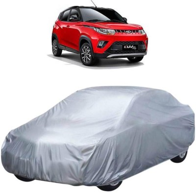 AutoKraftZ Car Cover For Mahindra KUV100 (Without Mirror Pockets)(Silver)