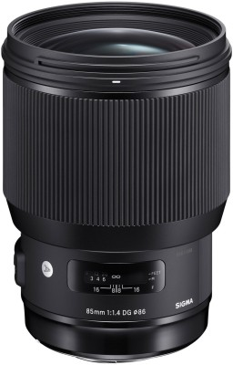 Sigma 85mm F/1.4 DG HSM Art lens for Nikon DSLR Cameras Lens(Black, 18 - 400) 1