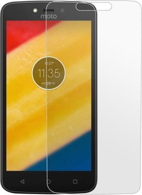 Kshitij Tempered Glass Guard for Motorola Moto C Plus(Pack of 1)