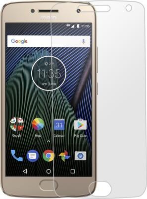 Kshitij Tempered Glass Guard for Motorola Moto G5 Plus(Pack of 1)